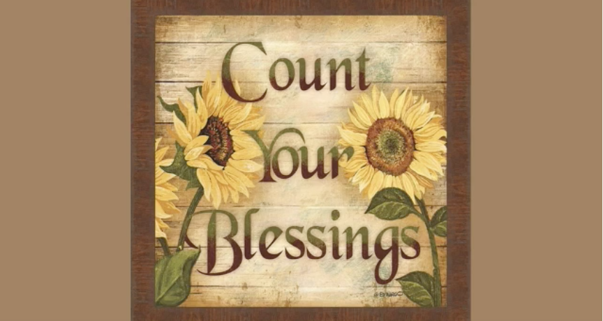 Count Your Blessings – Rev. Andra D. Sparks