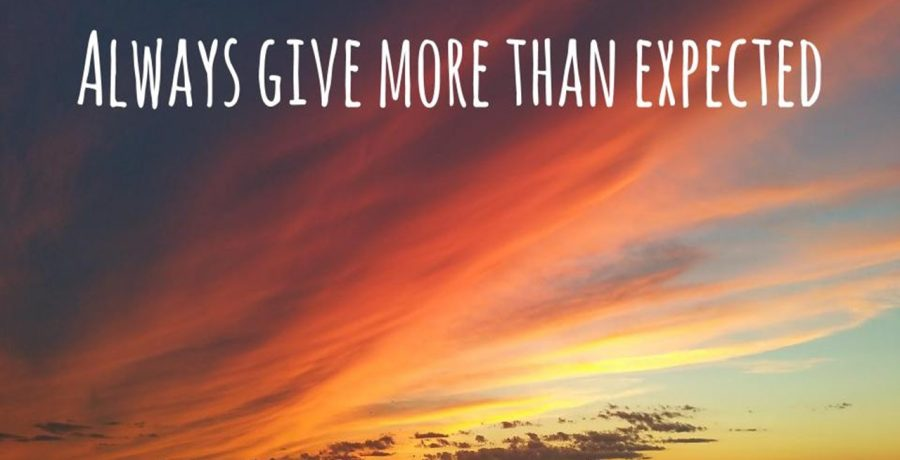 Always Give More Than Expected | Rev. Andra D. Sparks
