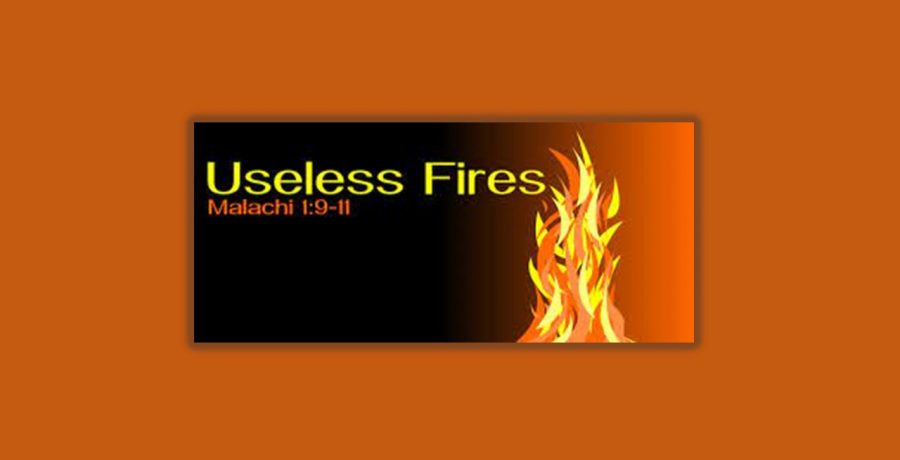 Useless Fires | Rev. Andra D. Sparks | July 11, 2021
