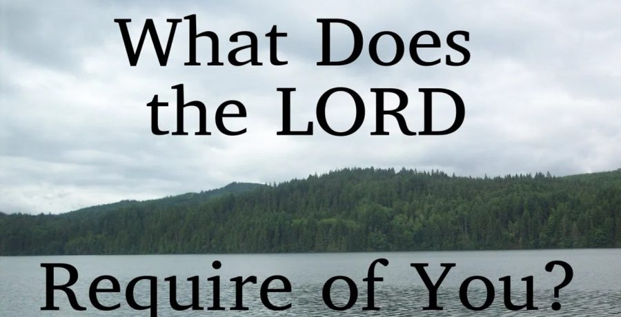 What Does The Lord Require of You? | Rev. Andra D. Sparks