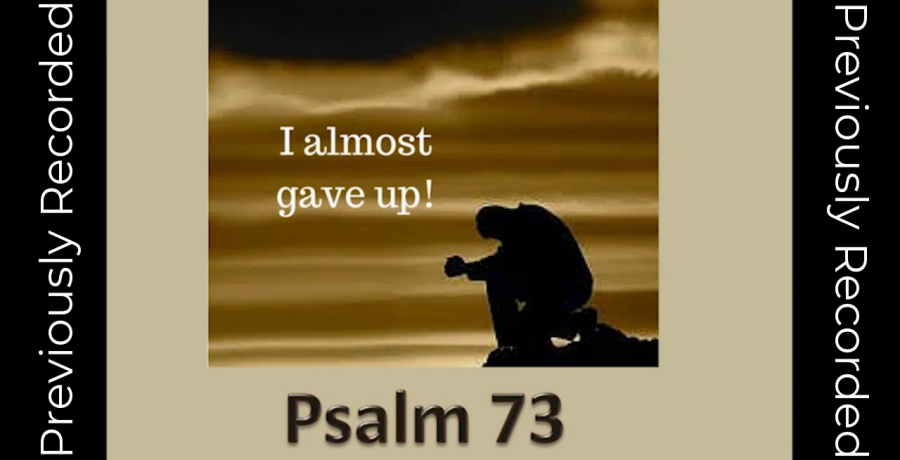 I Almost Gave Up / Re-Broadcast   Rev. Andra D. Sparks   Aug 22, 2021